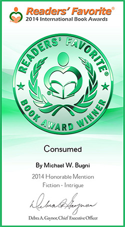 Consumed-Readers Favorite Award Certificate copy